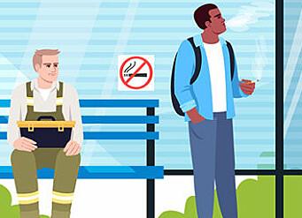 Slik vil regjeringen stramme inn røykeloven