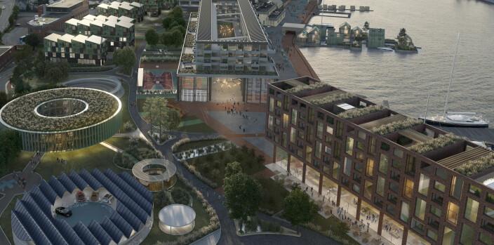 SE BILDENE:Slik blir Drammens nye bydel