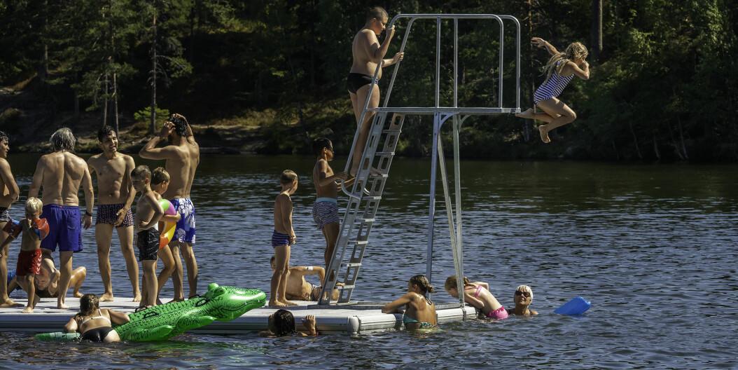 31ºC: Drammen varmest i landet!