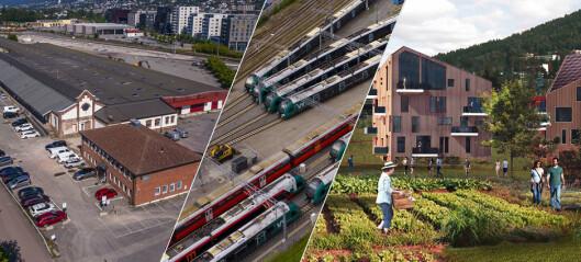 Godsterminal blir togparkering - så ny bydel
