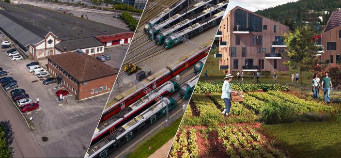 Godsterminal blir tog-parkering - så ny bydel