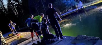 Mann erklært død etter drukningsulykke