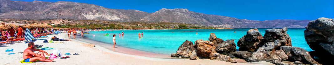 Nye innreiseregler:Kreta og Spania blir mørkerødt