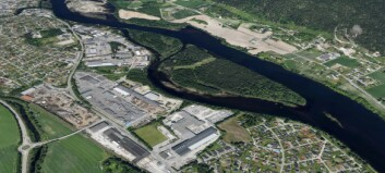Drammen og Øvre Eiker endrer kommunegrensa