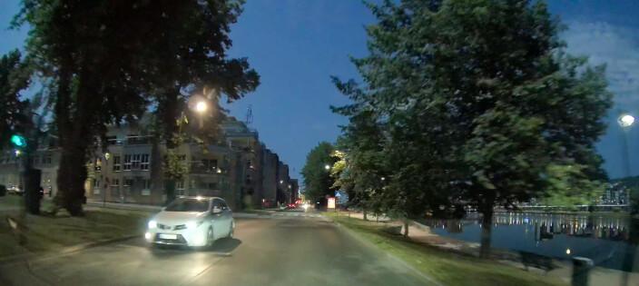 VIDEO: Meteoritt lyste opp Drammen