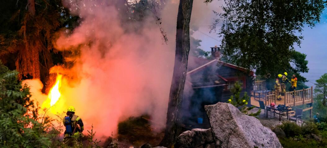 Flere skogbranner etter lynnedslag