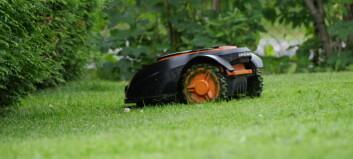 Uvanlig mange tyverier av robot-gressklippere