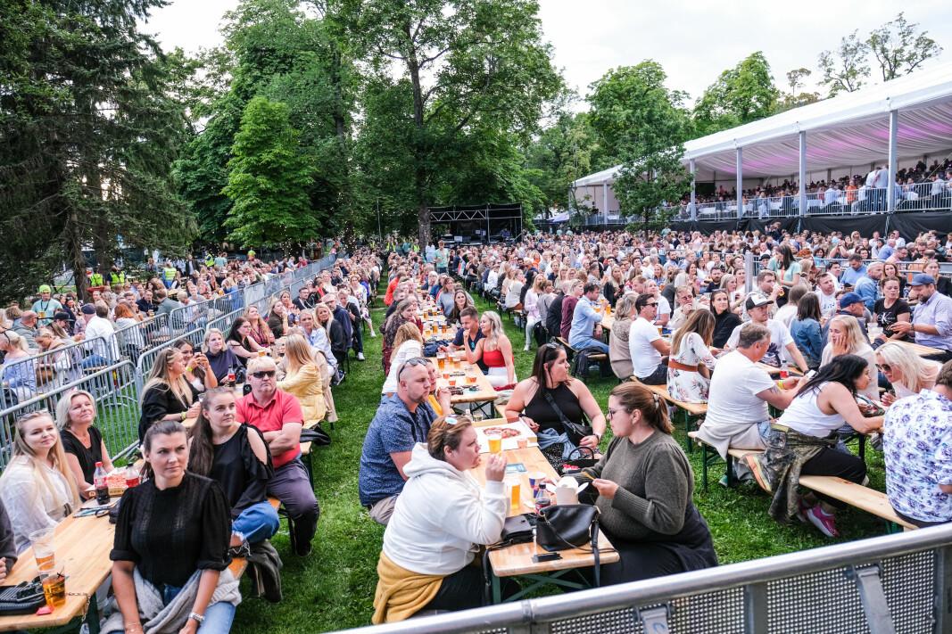 UTSOLGT: Konsertene på Gamle kirkeplass er så godt som utsolgt, og kan samle 5.000 publikummere.