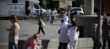 Drammen: Høyeste smittetall siden mars