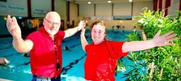 Oppgradert Eknes svømmehall åpnet