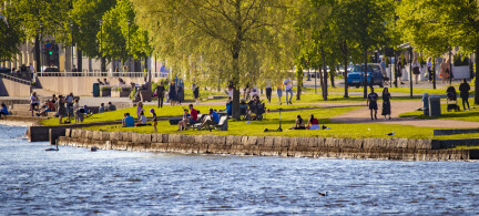 Rekordmange dager over 20 grader i sommer