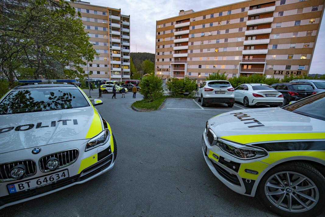FJELL: Hendelsen skjedde i Lauritz Hervigs vei. Bildet er tatt ved en tidligere anledning.