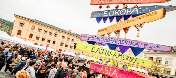 Flytter Globusfestivalen - igjen:- Måtte hive oss rundt