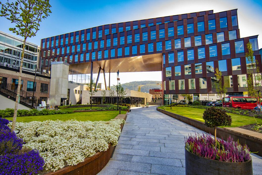 PORTALEN: Drammens siste skrik på signalbygg-fronten skal huse flere anerkjente selskaper.