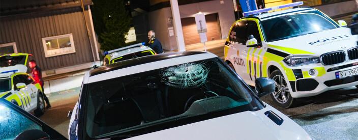 Flere biler skadet etter ny episode med steinkasting på E18