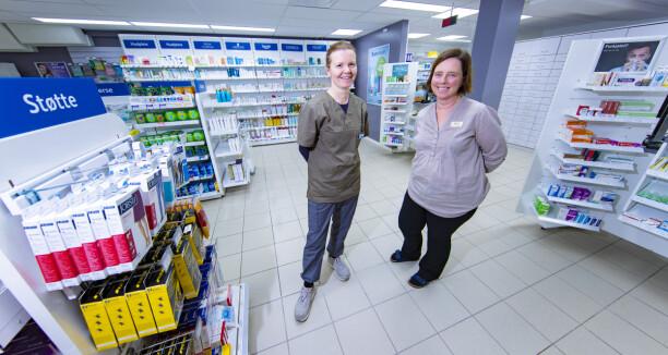 Kamp om apotek-kundene på Konnerud