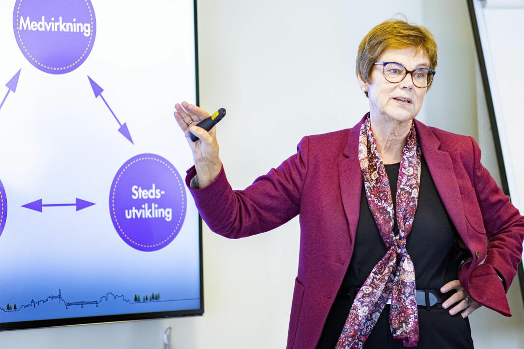 FIKK UVENTET GEVINST: Rådmann Elisabeth Enger kan glede seg over høyere inntekter enn budsjettert.