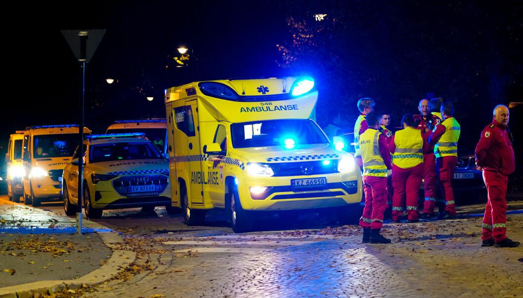 Massiv politiaksjon i Kongsberg: - Alvorlig hendelse