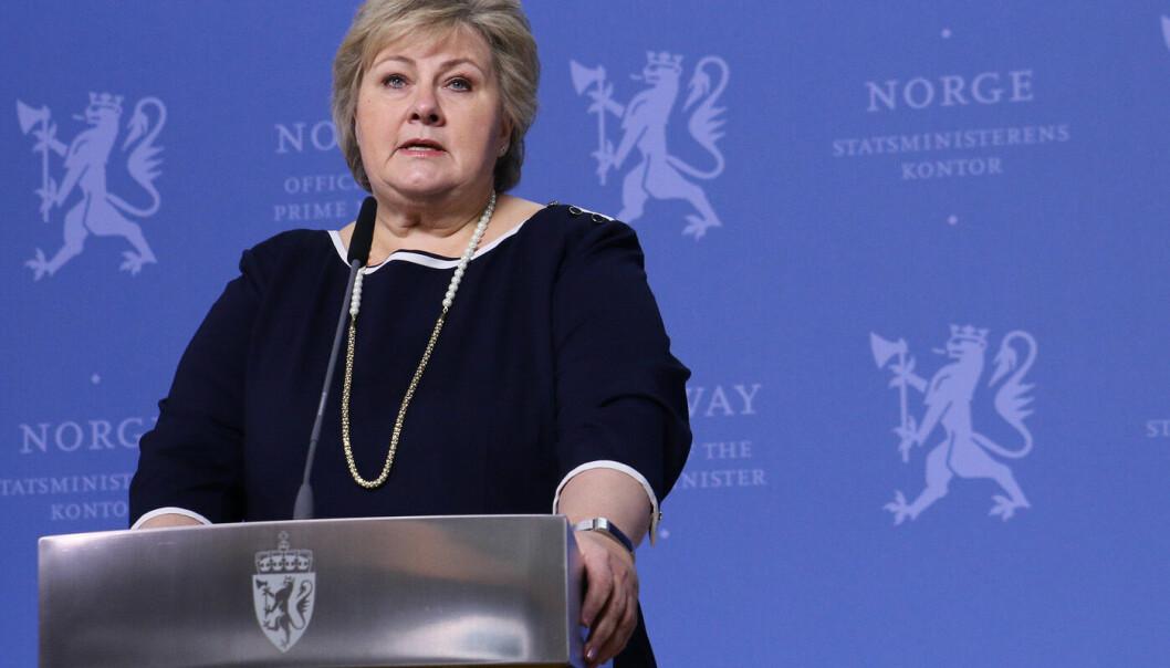 Solberg: - Meldingene fra Kongsberg er grufulle