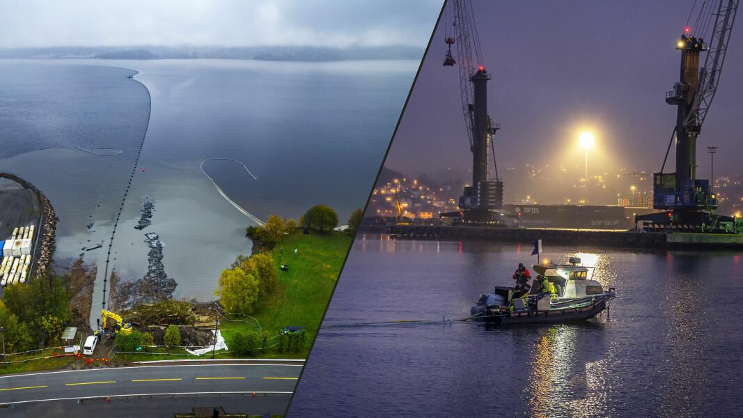 Vellykket «Operasjon sjøledning» i fjorden