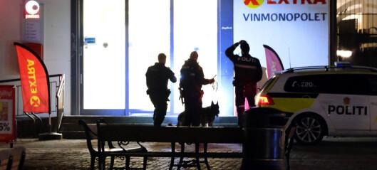 Etterlyser mann som skal ha blitt beskutt på Kongsberg