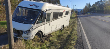 Bobil-ulykke på RV35